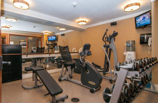 Fitness Room - Fox Hotel & Suites