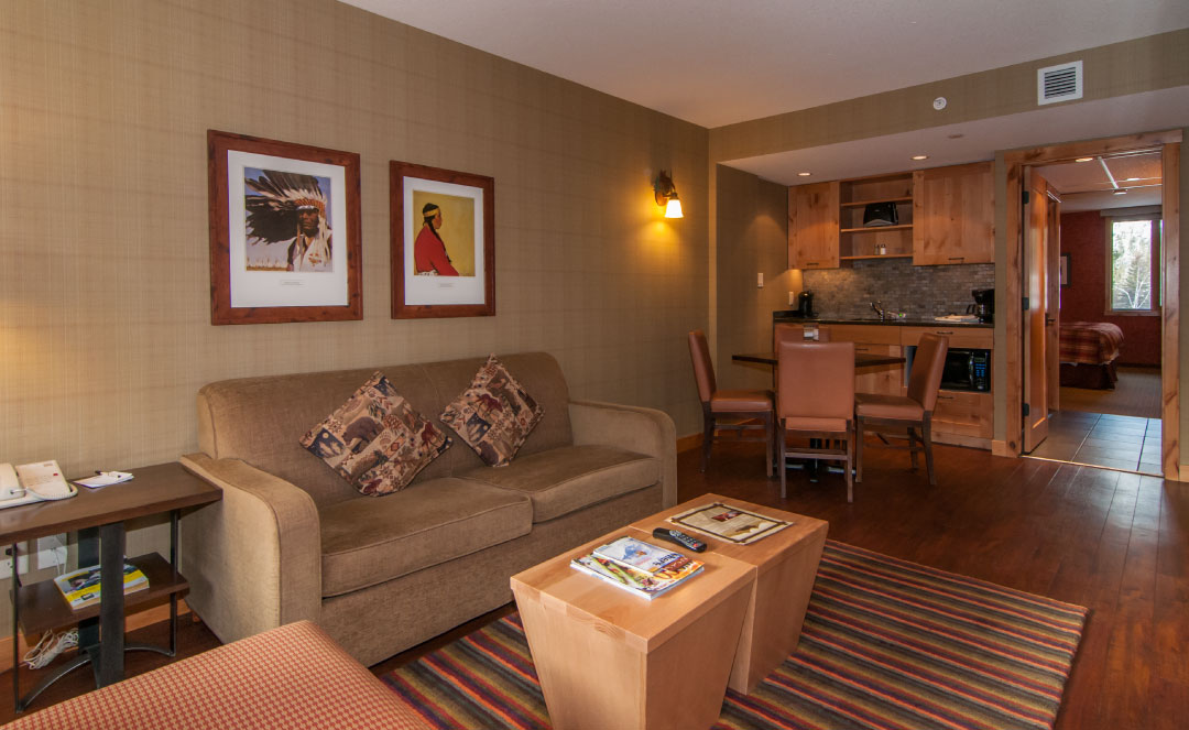Superior One Bedroom Suite Living Fox Hotel Suites