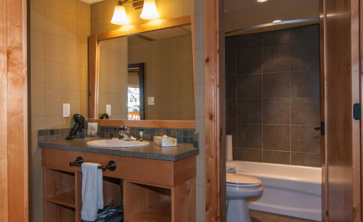 Superior Two Bedroom Suite Bathroom